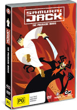 Samurai Jack - The Premiere Movie on DVD