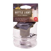 Solar Powered Bottle Light