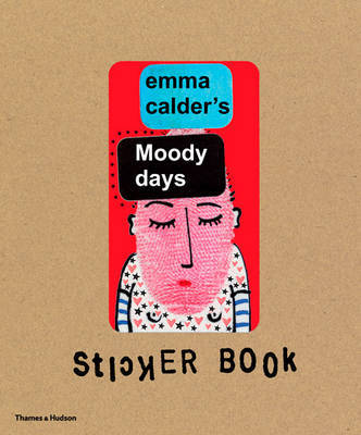 Emma Calder's Moody Days Stickers Book by Emma Calder image