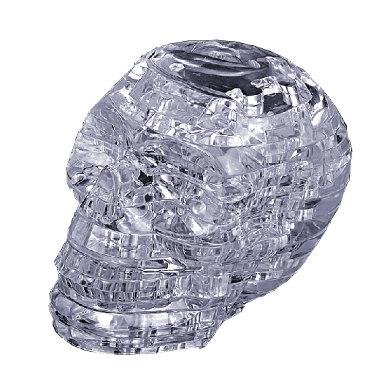 Crystal Puzzle: Clear Skull image