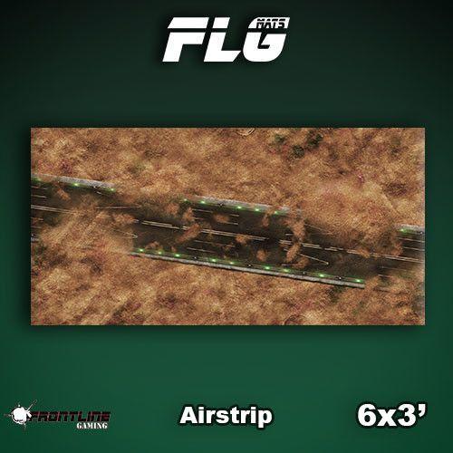 FLG Airstrip Neoprene Gaming Mat (6x3)