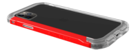 Element: Case Rail iPhone 11 Pro Max - Clear/Solid Red