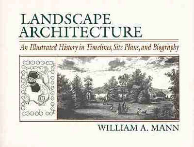 Landscape Architecture: An Illustrated History in Timelines, Site Plans and Biography by William A. Mann image