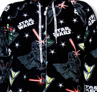 Star Wars: Empire Unisex Footed & Hooded Pyjamas - Large image