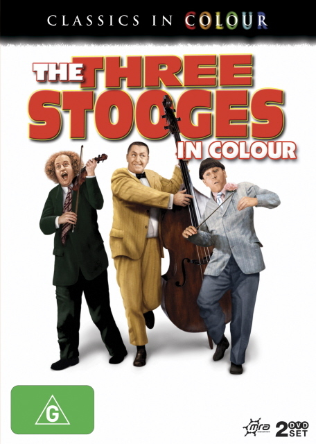 Three Stooges In Colour, The (Classics In Colour) (2 Disc Set) on DVD