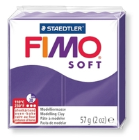 Staedtler Fimo Soft Modelling Clay Block - Plum (56g)