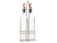 Maxwell & Williams Chef du Monde Oil and Vinegar Set - Red (500ml)