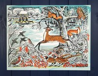 Angela Harding: Winter Woodland - Advent Calendar