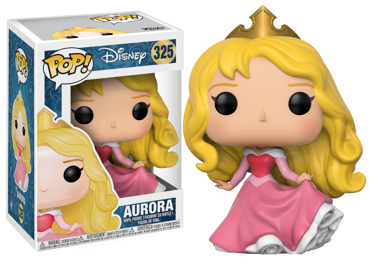 Disney - Aurora Pop! Vinyl Figure (with a chance for a Chase version!) image