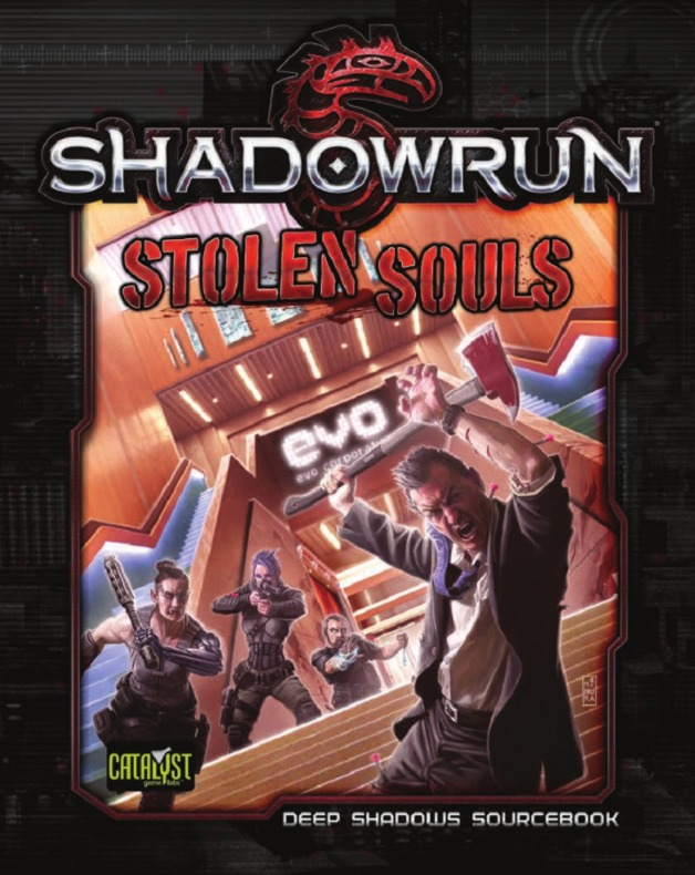 Shadowrun RPG: Stolen Souls - Deep Shadows Sourcebook