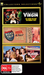 40 Year-Old Virgin / Road Trip / Old School - Collectors Selections (3 Disc Set) on DVD