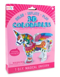 Ooly: 3D Colorables Activity Kit - Magical Unicorn
