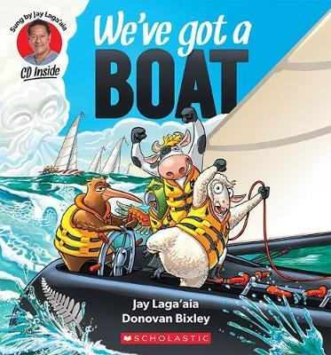 We've Got a Boat by Jay Laga'aia