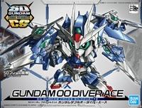 SD Gundam Cross Silhouette Gundam 00 Diver Ace - Model Kit