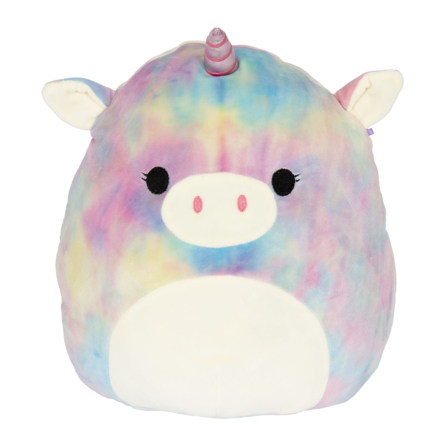 "Squishmallows 12"" Plush - Esmeralda the Rainbow Unicorn"