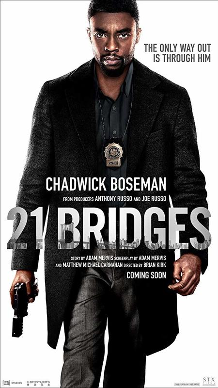 21 Bridges on Blu-ray