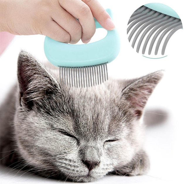 Long-Haired/ Short-Haired - Pet Comb (Green)