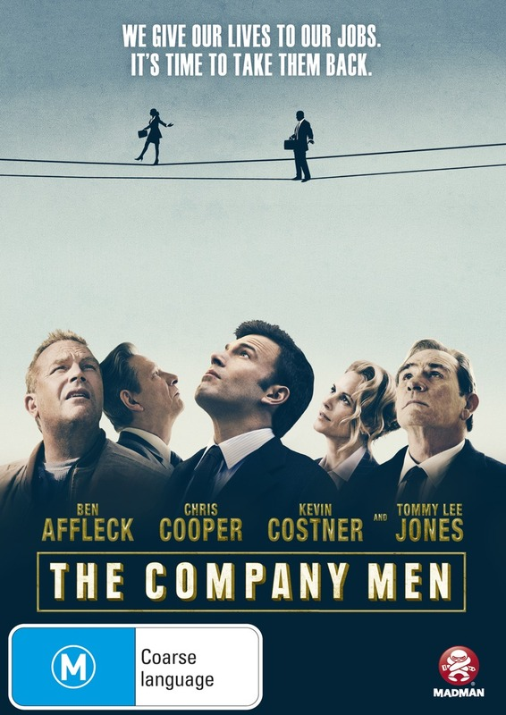 The Company Men on DVD
