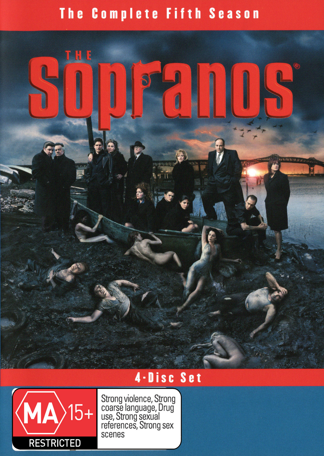 The Sopranos - Season 5 on DVD image