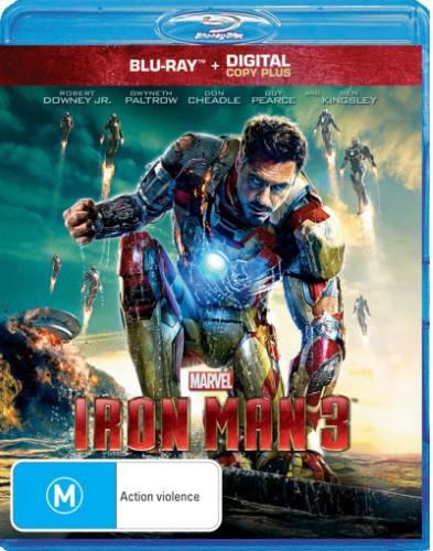 Iron Man 3 on Blu-ray image