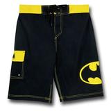 Batman Symbol Men's Board Shorts (Medium)