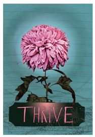 Papaya Multi-purpose Card - Thrive Bloom (Small)