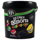 RJ's Licorice Allsorts Fun Bucket (800g)