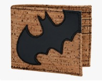 Batman: Cork & Applique - Bi-fold Wallet