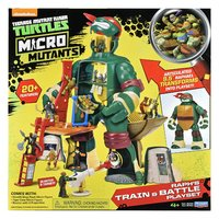 Teenage Mutant Ninja Turtles: Micro Mutant Playset - (Raph's Train & Battle)