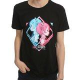 Re:Zero: Rem/Ram - Mens T-Shirt (Medium)