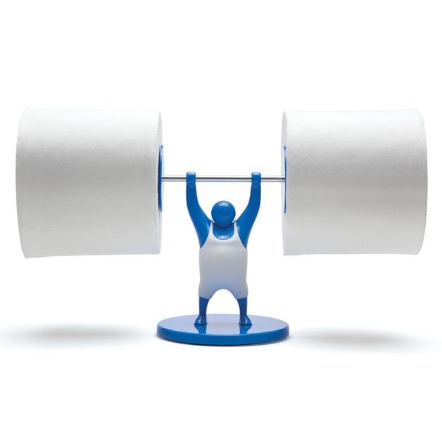 Monkey Business: Mr T Roll Holder (Blue)