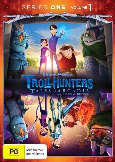 Trollhunters - Volume One on DVD image