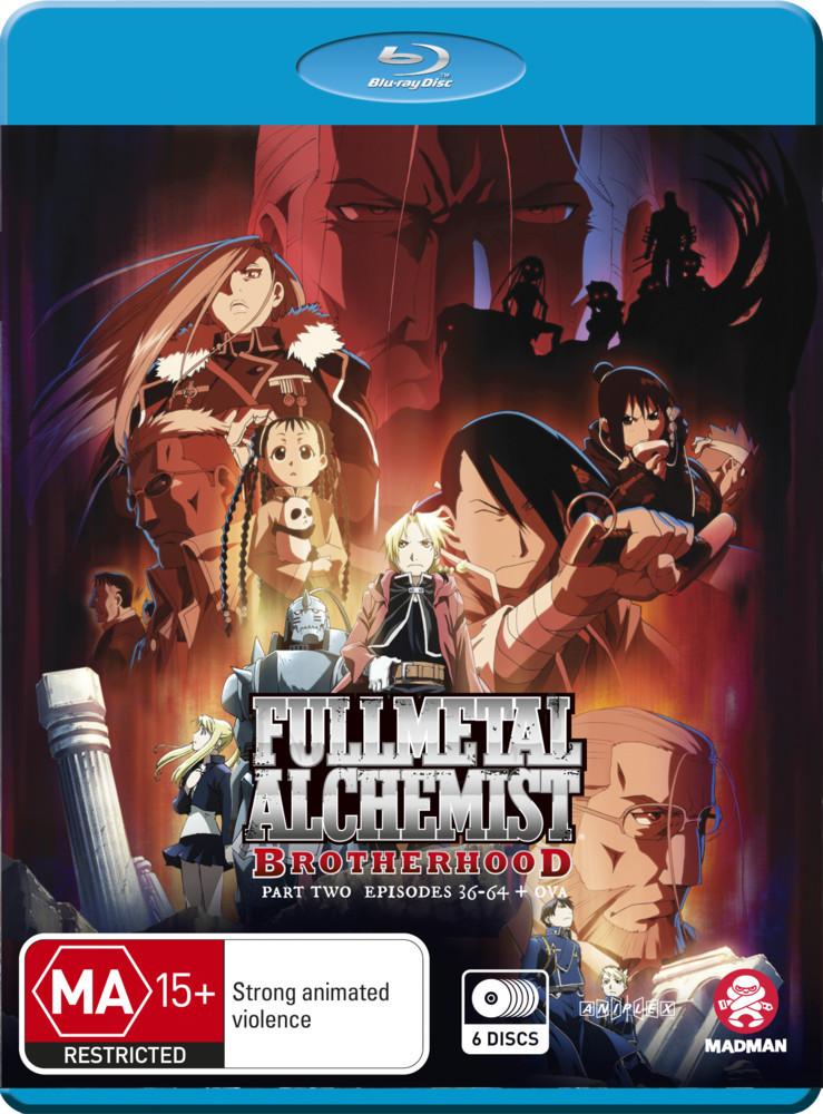 Fullmetal Alchemist: Brotherhood - Part 2 (Eps 36-64 + Ova) on Blu-ray image
