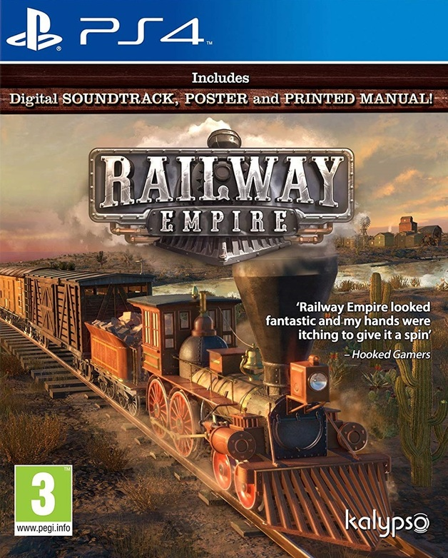 Railway Empire | PS4 | On Sale Now | at Mighty Ape NZ