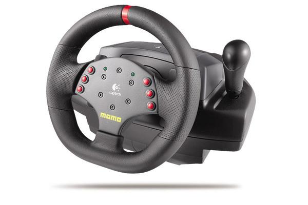 Logitech Momo Force Feedback Steering Wheel