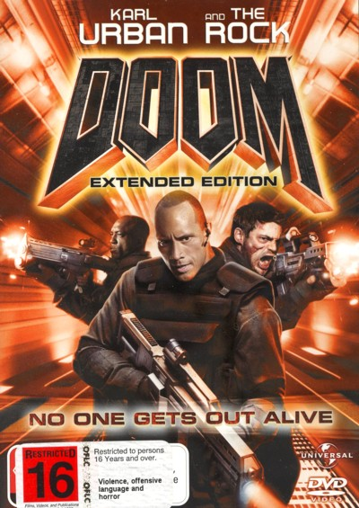 Doom - Extended Edition on DVD image