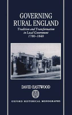 Governing Rural England by David Eastwood image