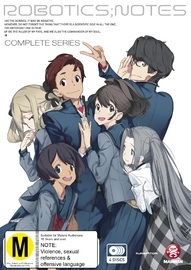 Robotics;Notes - Complete Series on DVD