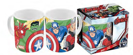Marvel Avengers Mug In Gift Box (11oz)