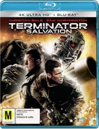 Terminator Salvation (2 Disc Set) on DVD, UHD Blu-ray image