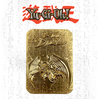Yu-Gi-Oh: Metal God Card (24K Gold Plated) - Winged Dragon of Ra