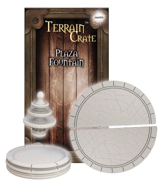 TerrainCrate: Plaza Fountain