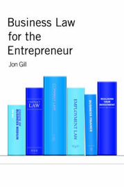 Business Law for the Entrepreneur by Jon Gill image