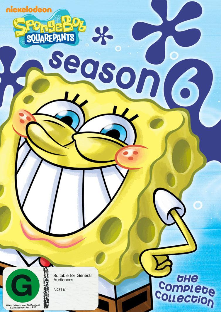 SpongeBob Squarepants: Complete Season 6 (4 Disc Set) on DVD image