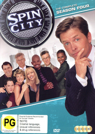Spin City - The Complete Season 4 on DVD