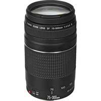 Canon EF 75-300mm f/4-5.6 III Telephoto Zoom DSLR Lens