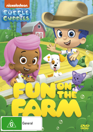 Bubble Guppies: Fun On The Farm on DVD