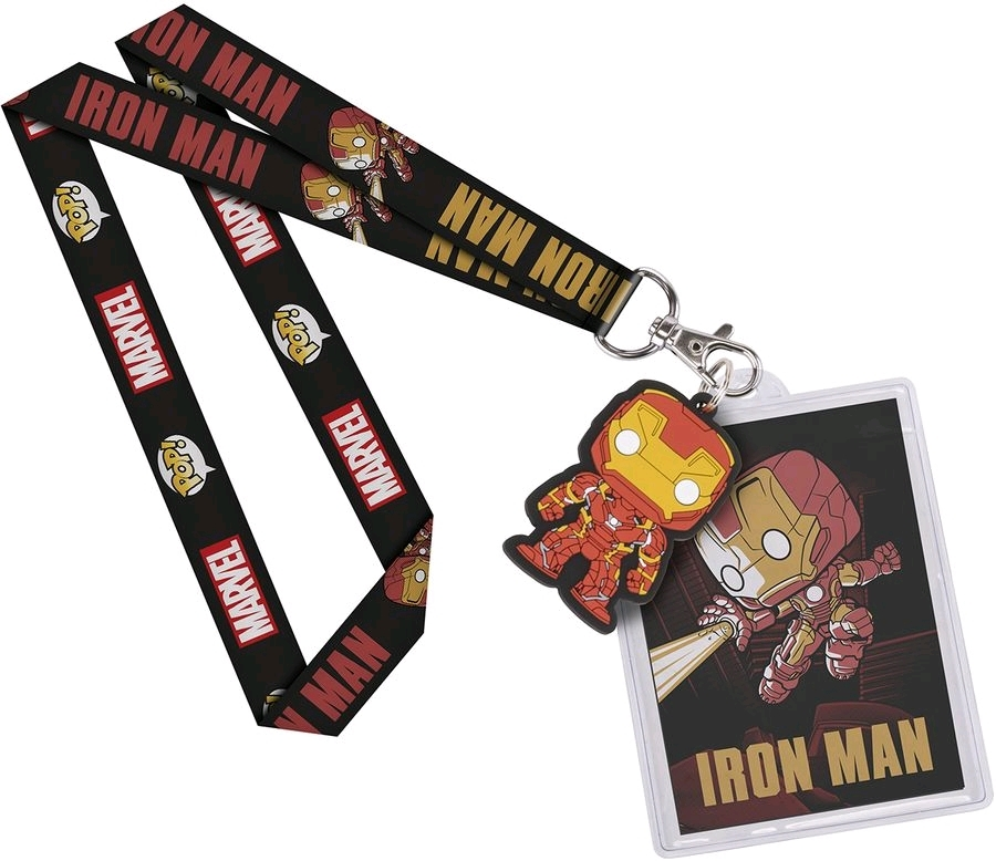 Marvel: Iron Man - Pop! Lanyard image