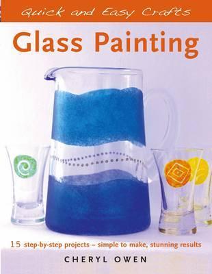 Glass Painting by Cheryl Owen