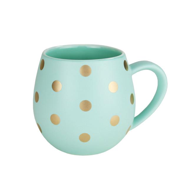 Robert Gordon: Hug Me Mug Set (Mint and Gold Spot)